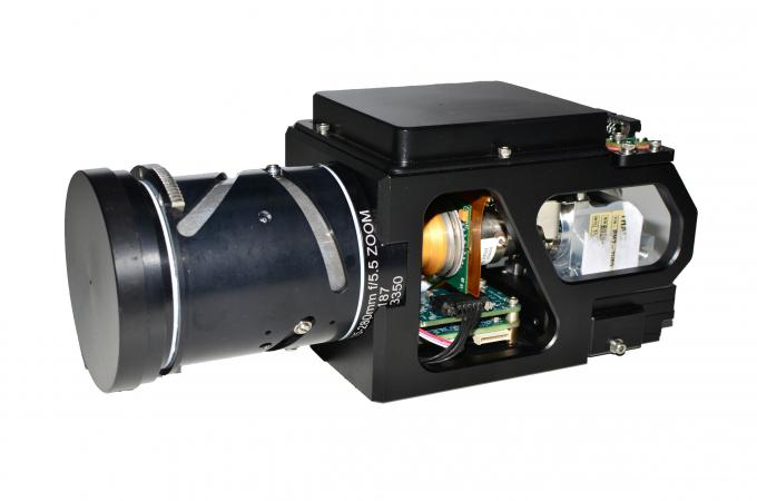 15-280mm continuous zoom MWIR Cooled Thermal Imager for EO System Integration