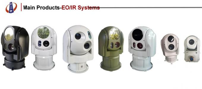 JHP320- B220 Electro Optical Infrared Camera Monitoring System Airborne Dual Sensor