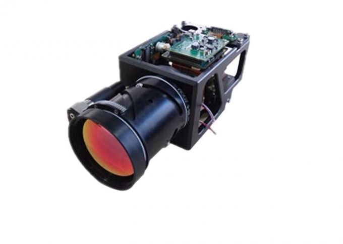 Small Size Mwir Long Range Thermal Camera 640x512 High Resolution Sensor