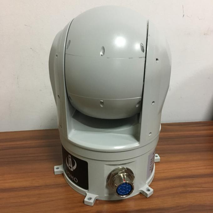 USV EO IR Systems Shipborne Photoelectric Infrared System 2 Axis Gimbal