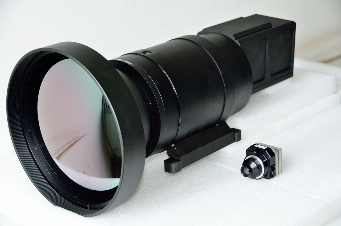 High Resolution  Infrared Optical Lens 400mm / 100mm Dual FOV Focus Length