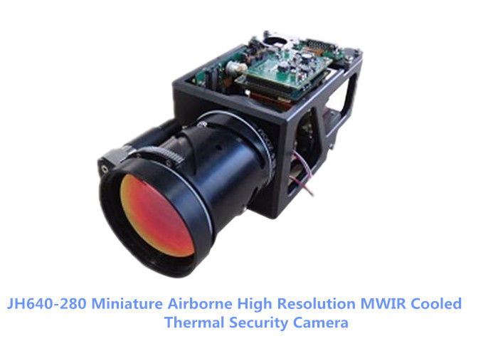 JH640-280 Small Size MWIR Cooled MCT Thermal Security Camera