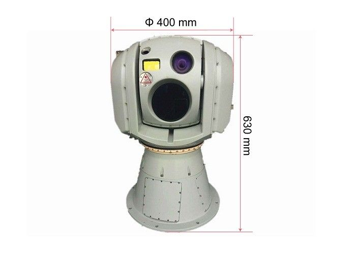 Gyro Stabilised EO IR Camera System with LWIR Thermal Camera 5Km Laser Range Finder