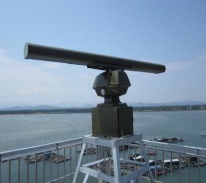 Maritime Surveillance Radar System for Measure ship position / speed / heading