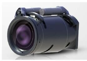 240mm / 60mm Dual - FOV Thermal Security Camera , Infrared Thermal Imaging Camera JH640-240