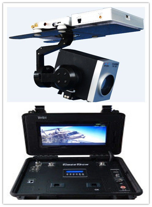 Hd 1080p Real Time Eo Ir Systems , Uav Thermal Security Camera System