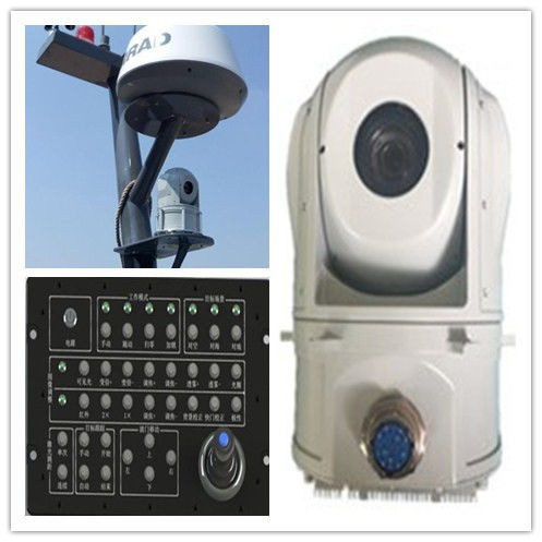 JHP103 - M145A Electro Optical Tracking System Gimbal For USV , Long Life