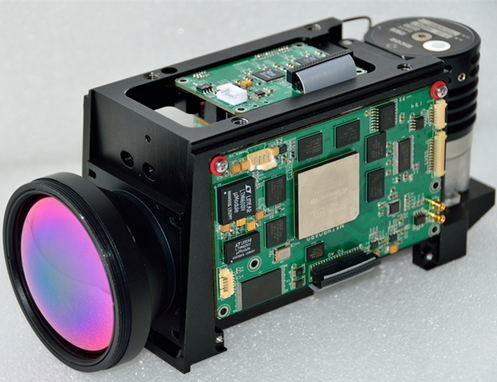 High Sensitivity And High Resolution Cooled Thermal Camera MWIR