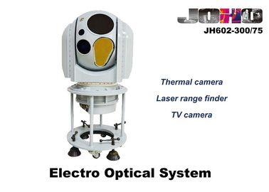 Naval EO IR Camera System with MWIR Thermal Camera , 20Km Laser Range Finder